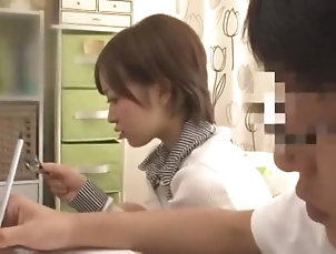 Asian,Japanese,Doggy Style,Small Tits,Straight,JAV Censored Horny Japanese girl Natsume Inagawa,...
