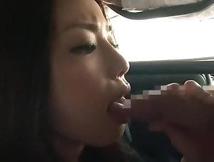 Blowjob,Japanese,Straight,JAV Censored,Car,vjav.com Best Japanese girl Risa Kasumi in...