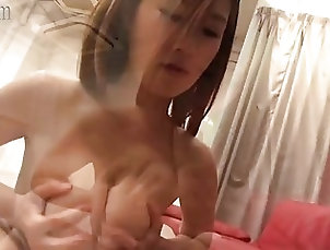 Milf,Milf Tiny busty Japanese wife titjob