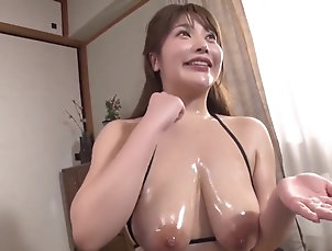 Asian,Big Tits,Blowjob,HD,Japanese,Celebrity,Straight Oil Slick Huge Tits Thick...