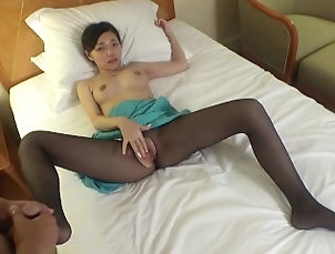 中出し;潮吹き;アジア美人,Asian;Babe;Creampie;Cumshot;Fetish;Masturbation;Japanese;Old/Young 白石 夏目 美人