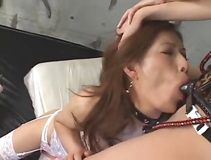 Cunnilingus,Dildos/Toys,Lesbian,Masturbation,Stockings,Rimming,BDSM,Strapon,Japanese,Straight,JAV Censored Hottest Japanese chick Mai Fujisaki,...