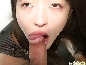 Japanese;Asian;Hardcore Amateur Jav College Girl Rie Gets...
