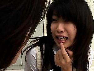 Asian,Blowjob,Hardcore,Japanese Cute angel gets her face jizzed