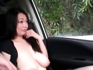 Asian,Blowjob,Hardcore,Japanese,Outdoor Hot public flashing by hottie...