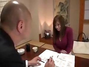 Asian,Big Tits,Japanese,Couple,Straight saleman fuck someone wife
