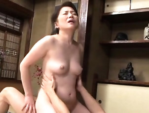 Asian,Hardcore,Japanese,Lick,Mature Breathtaking older goes undressed and...