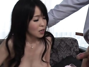 Asian,Blowjob,Fingering,Hairy,Japanese,Milf,Teen Hot milf gets on knees to suck in big...