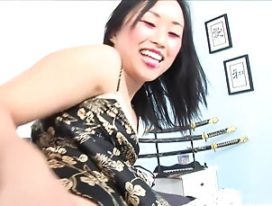 Asian,Big Tits,Brunette,HD,Threesomes,Straight Horny pornstars Bella Ling and Gianna...