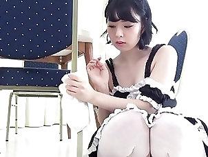 Japanese;Uniform;Maids,hd Stunning Mizuho Ishimori Teases In...