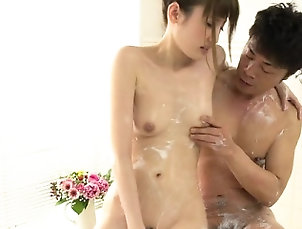 Asian,Japanese,Massage,Small tits Japanese doxy delights dude with...