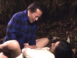 Asian,Hardcore,Japanese,Mature,Outdoor Older lady gets ribald in public