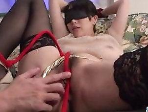Asian;Japanese;MILF;Lingerie;Bondage;Big Tits Rina Mayuzumi, obedient girl,...