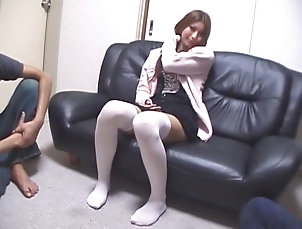 Dildos/Toys,Masturbation,Stockings,Japanese,Threesomes,Small Tits,Straight,JAV Censored Best Japanese slut in Fabulous...