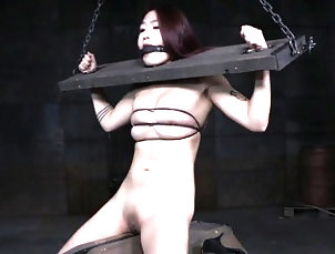Asian,BDSM,Fingering,Hd,Japanese,Toys Redhead asian submissive punished and...